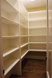 kitchen pantry shelving ideas walk in pantry shelving ideas simple walk in pantry shelving