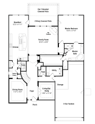 bevington floor plan at lakeview at steiner ranch in austin tx