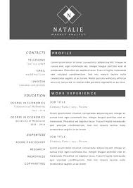 Market Research Resume Examples by Sample Creative Resume 50 Awesome Resume Designs That Will Bag