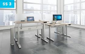 S S Office Interiors Sit And Stand Furniture Ispace Office Interiors