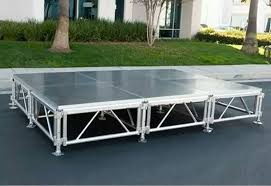 stage truss system concert stage flooring portable indoor stage