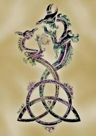 celtic dragons love this celtic tattoos tattoo ideas