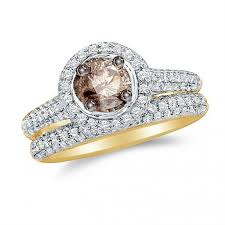 browns wedding rings brown diamond engagement ring pictures lovetoknow