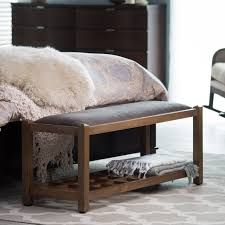 End Of Bed Bench King Size Bedroom Adorable Bedroom Storage Benches Padded Benches For