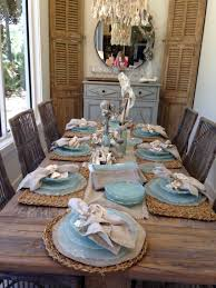 beach decor table setting beatitiful decor by beau interiors
