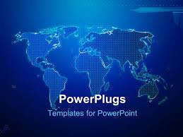 United States Map Powerpoint Template by Map Powerpoint Templates Crystalgraphics