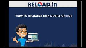 Idea Cellular Bill Desk Idea Mobile Recharge With Reload In Youtube