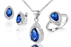 earring necklace sets cheap images Cheap sapphire jewelry sets sale find sapphire jewelry sets sale jpg