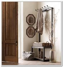 metal entryway storage bench with coat rack general storage metal