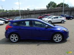 2014 ford focus st blue 2014 performance blue ford focus st hatchback 84907716 gtcarlot