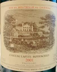 learn about chateau lafite rothschild 2001 château lafite rothschild bordeaux médoc pauillac
