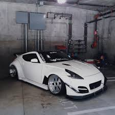 lowered cars car nissan 370z tuning stance lowered garage jdm hellaflush