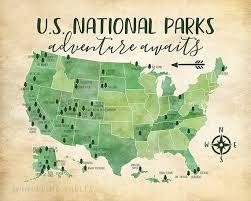 map us parks us national parks map adventure mountains parks rivers