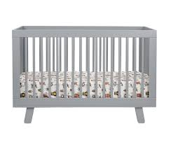 Convertible Crib With Toddler Rail Hudson 3 In 1 Convertible Crib With Toddler Rail In Grey Twinkle
