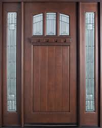glass and wooden doors furniture brown wooden door with half glass decoration and double