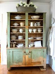 Rustic China Hutch Foter - Kitchen cabinet with hutch
