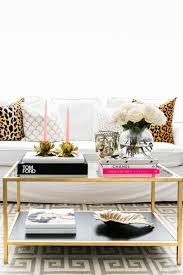 How To Decorate A Coffee Table Ceres Ribeiro U0027s Union City Nj Home Tour The Everygirl