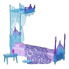 Frozen Elsa Bedroom Amazon Com Disney Frozen Icicle Canopy Bed Set Toys U0026 Games