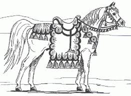 printable 30 free printable realistic horse coloring pages 3781