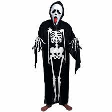 aliexpress com buy horror black halloween costume ghost skeleton