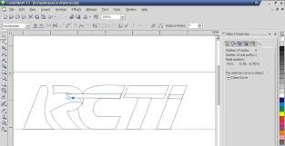 membuat gambar transparan di corel draw x7 membuat logo rcti dengan corel draw x3 nganu