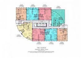 the venice luxury residences building plans