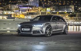 tuned cars tuned cars prior design pd600r audi a6 rs6