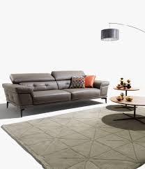 crozatier canapé canapé fixe 3 places en cuir ou tissu emotion crozatier