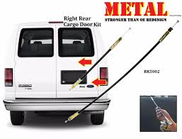 meta ford econoline van handle rear cargo door latch release cable