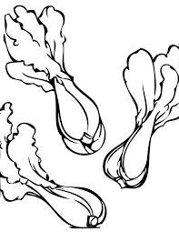 bokchoy coloring page handipoints