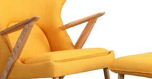 cub chair u0026 ottoman citrine ash kardiel