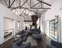 Interieur Mit Rustikalen Akzenten Loft Design Bilder Extravagante Wohnzimmer Interieur Ideen