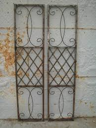 Wrought Iron Patio Doors by Wrought Iron Skyview Exterior Window Shutters