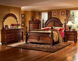 Bedroom Set With Media Chest Home Furnishings Bainbridge 4 Piece Traditional Arched Poster