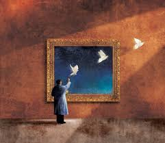 the painter the painter and the message by roweig on deviantart