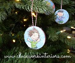 kid friendly ornaments to make and clockwork