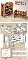 stacking wine rack plans furniture plans and projects