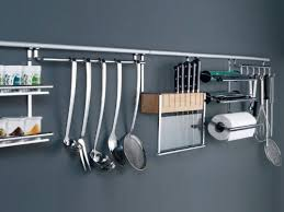 barre de rangement cuisine linero 2000 kesseböhmer rail de rangement de cuisine et accessoires