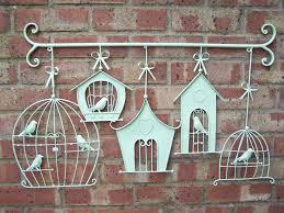 Wall Art Designs Outdoor Metal Wall Art Cute Parenttheis Birds