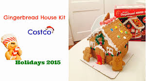 gingerbread house kit from costco unboxing u0026 decorating youtube