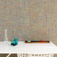 wall fabric patterned pvc commercial mini basketweave