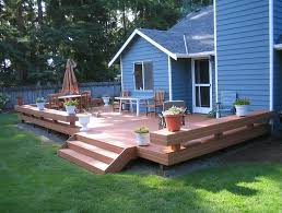 Deck And Patio Ideas For Small Backyards Small Deck And Patio Ideas Home Design Ideas