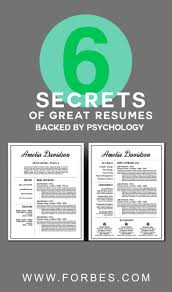 how to write bachelor of science degree on resume best 25 psychology jobs ideas on pinterest psychology careers 6 secrets of great resumes backed by psychology