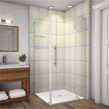 24 Frameless Shower Door 24 Shower Doors Showers The Home Depot