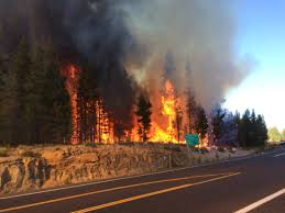 Current Wildfire Map Oregon by One Concern Along Eclipse Path Wildfires