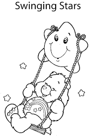 care bear coloring pages u003e u003e disney coloring pages
