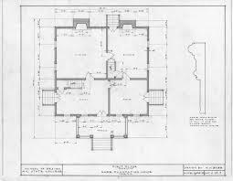 first floor plan detail hare plantation como north carolina
