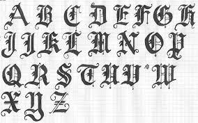 black ink letters designs tattoosfever