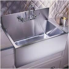 Kitchen Sinks With Backsplash Traditional Kitchen Sink With Backsplash Farmhouse Inspire Sinks