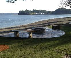 Beach Fire Pit by Fire Pits Steps Stairs Beach Slab Steps Fencing Bremerton